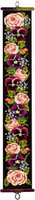 Victorian Roses Bell Pull Chunky Cross Stitch Kit