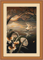 By The Lake Petit Cross Stitch Kit By Luca S