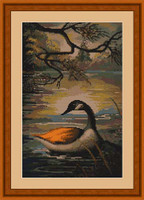 Rate On The Lake Petit Cross Stitch Kit By Luca S