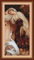 Odalisca Petit Cross Stitch Kit By Luca S