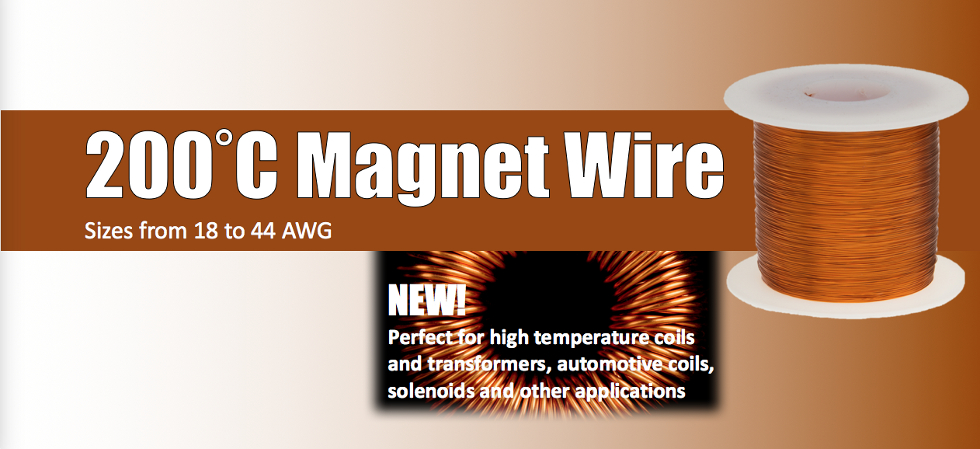 Remington Industries sells 200°C Magnet Wire