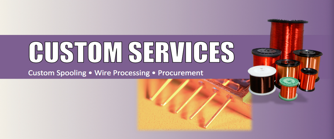 Remington Industries provides Custom Spooling & Wire Processing and Procurement