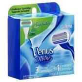 Gillette Venus Divine Plus Venus Embrace Cartridge - 4 Count
