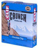Cliff Crunch Bar - Chocolate Chip -5 bars