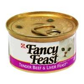Fancy Feast Cat Food Beef and Liver - 3 Oz