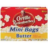 Orville Redenbacher's Butter Mini Bags Microwave Popcorn-10 pk