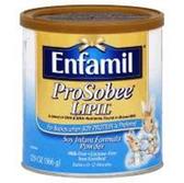 Enfammil Prosobee Lipid Soy Infant Powder Formula w/ Iron - 12.9