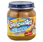 Gerber Graduates Lil Sticks Chicken Sticks