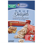 Quaker TrueDelights Cinnamon Streusel MiniDelight Rice Cakes-6oz