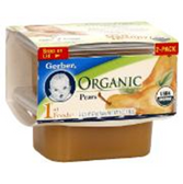 Gerber Organics First Food - Pears