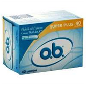 Johnson and Johnson O.B. Super Plus Tampons - 40 Count