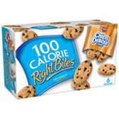 Keebler 100 Calorie Right Bites ChocolateChip Cookies-16 oz