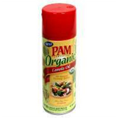 Pam Cooking Spray Organic Canola Oil -5 oz