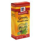 Mccormick Green Food Coloring-1 Fl. Oz