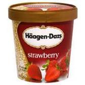 Haagen Dazs Strawberry Ice Cream - 14 oz