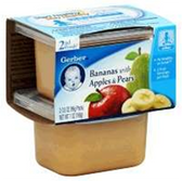 Gerber Baby 2nd Food - Banana with Apples & Pears