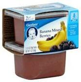 Gerber Baby 2nd Food - Banana Mixed Berries