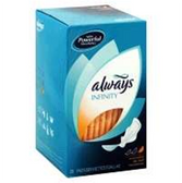 Always Infinity Pads Super With Wings - 32 Count