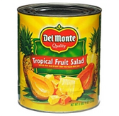 Del Monte Tropical Fruit Salad - 107 oz