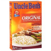 Uncle Bens Original Enriched Long Grain Rice - 48 oz