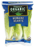 Taylor Organic Romaine Hearts - 3 Pack
