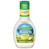 Hidden Valley Ranch Light  Salad Dressing -16 oz