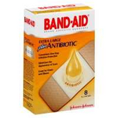 Johnson And Johnson Band Aid XL Plus Antibiotic Bandage -6 ct
