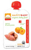 Happy Baby Organic Baby 2nd Food - Apricot & Sweet Potato