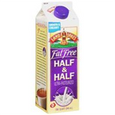 Land O Lakes Fat Free Half & Half -32 oz