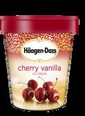 Haagen-Dazs - Cherry Vanilla -16oz