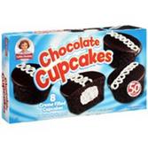Little Debbie Chocolate Cupcakes -8 pk