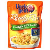 Uncle Ben's Ready Rice (Just Microwave) - Garden Vegetable