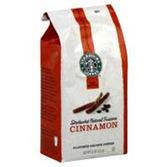 Starbucks All Natural Cinnamon Coffee -12 oz