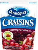 Ocean Spray Pomegranate Craisins -5oz