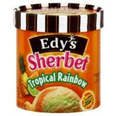 Dreyers / Edys Tropical Rainbow Sherbet