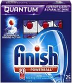 Finish - Quantam Powerball w/Baking Soda -25ct