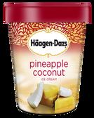 Haagen-Dazs - Pineapple Coconut -16oz