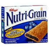 Kellogg's Blueberry Nutri-Grain -6 pk