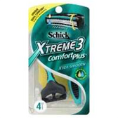 Schick Xtreme 3 Classic Disposable Razor - 4 Count
