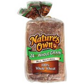 Nature's Own Whole Wheat  Bread -20 oz