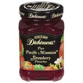 Dickinson's Strawberry Preserves -10 oz