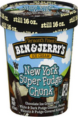 Ben & Jerry's - New York Super Fudge Chunk -16oz