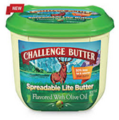 Challenge Spreadable Lite Butter w/ Olive Oil -30oz