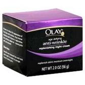 Olay Anti-Wrinkle Replenishing Night Cream - 2 Oz