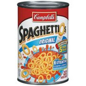 Campbell's Spaghettios w/ Meatballs Soup - 15 oz
