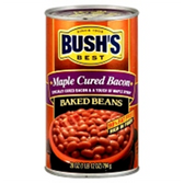 Bush's Maple Cured Bacon Beans -16 oz