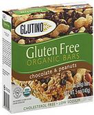 Glutino Organic Chocolate & Peanut Bars -5 Bars