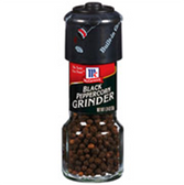 McCormick Black Peppercorn Grinder -1 oz