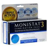 Monistat 3-Day Triple Action System - .32 Oz