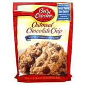 Betty Crocker Oatmeal Chocolate Chip Cookie Mix -17.5 oz